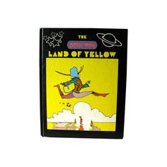 The Peter Max Land Of Yellow Vintage Art Book / Pop Art / Illustrated Art Book / Artist Peter Max / Gift Book / First Edition by OpenslateBooks on Etsy https://www.etsy.com/listing/384810746/the-peter-max-land-of-yellow-vintage-art