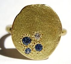 Katherine Bowman makes beautiful jewelry.  I love this ring and more.