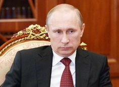 """Putin offers 'complete support' to Iraq, Iran says Obama lacks will to combat terrorism - The Times of India - """"E.T. says: (Watch out, earthlings. Vladimir Putin is showing his hairless chest again. He says: *I'M THE MAN NOW. I'M GOING TO TAKE OVER THE WORLD* Watch out, Obama. Putin is missing one thing. His White Horse! Isn't that a daisy? lmao =))"""""""