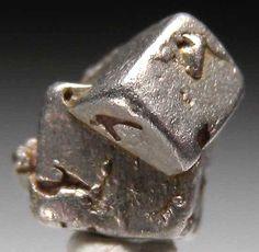 Platinum from Kondor Mine, Eastern Siberia, Russia