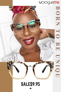 Voogueme provides wild glasses for you. These rectangle tortoise glasses offer a comfortable fit with durable plastic material. Glasses For Oval Faces, Funky Glasses, Nice Glasses, Cool Glasses Frames, Cute Sunglasses, Cat Eye Sunglasses, Sunglasses Women, Lunette Style, Fashion Eye Glasses