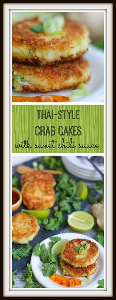 This is the last crab cake recipe you'll ever need. Bright Thai flavors, sweet crab, a crispy crust and a sweet, spicy sauce all come together for crab cake nirvana.