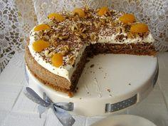 Ořechový dort bez mouky se šlehačkou Tiramisu, Food And Drink, Gluten Free, Cake, Ethnic Recipes, Desserts, Glutenfree, Pie Cake, Tailgate Desserts