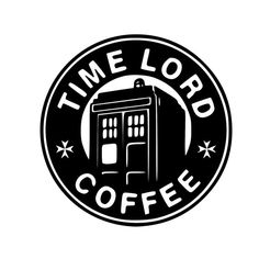 Doctor Who Inspired Time Lord Coffee Sticker Vinyl by SidratDecals
