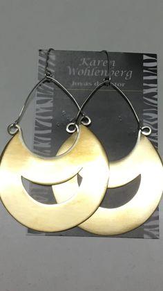Aros de bronce con vástagos de plata AR0136 vendidos