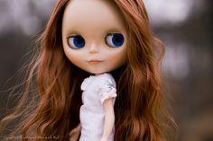 Blythe by woods., via Flickr