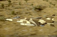 French Armée de l'Air Sepecat Jaguar of 11.4 Jura over Chad 1988.