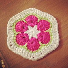 Granny square voor Miss Wooly