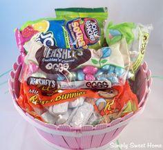 Hersheys Candy Easter Basket