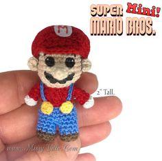 Super Mario Bros.    2 Tall.  OOAK Custom Mini Micro by MissyVille