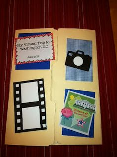Fabulous in Fourth!: Washington, D.C. Lapbook printables, videos, and book suggestions