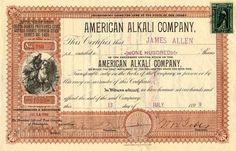 American Alkali Company, New Jersey, 1899.