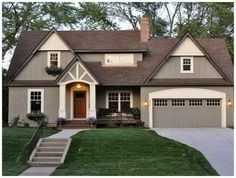 exterior paint colors for homes combination