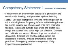 competency statement 9 essay 2 was also completed between the chase instrument and the 2005 aone nurse manager leadership collaborative framework illustrating similar competency categories of focus.