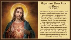 Religious Pictures, Heart Of Jesus, Sacred Heart, Acting, Prayers, Spirituality, Father, Life, Pai