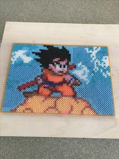 Dragón ball Goku hama beads