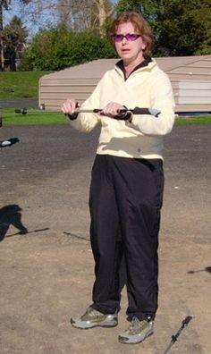 How to Use Poles for Nordic Walking: Adjust the Length of Your Nordic Walking Poles