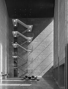 The National Bank of Copenhagen, designed by Arne Jacobsen in 1965.
