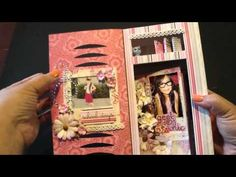Video by bona using her new AccuCut Craft Album Locker die.