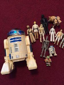 VINTAGE  STAR WARS 1977 R2-D2 DROIS ACTION FIGURINE+11