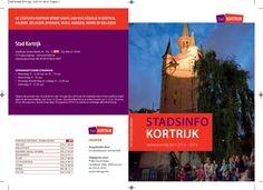 Kortrijk stadsinfo2014 2015 by Jan Duchau via slideshare