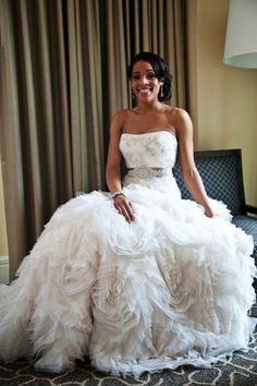 beautiful #Lazaro #wedding gown!! http://www.iwedplanner.com/wedding-vendors/wedding-dresses-and-attire/