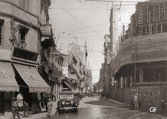 Na foto, de 1920, a esquina da Boa Vista com a Ladeira Porto-Geral (à esquerda).