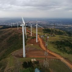 Parque eólico Ngong II (Kenia) / Ngong II wind farm (Kenya)