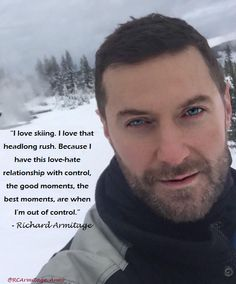 #RichardArmitage and his love of skiing... -RAspy