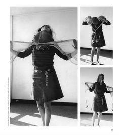 lygia clark, straightjacket Pink Performance, Straight Jacket, Leather Skirt, Skirts, Photography, Polaroid, Party, Fashion, Mascaras