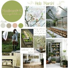 My moodboard on wednesday #39 - Hello March!