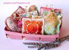 Scrap in Progress-DIY lavender sachet