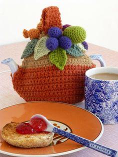 Isn't this tea cozy the most DARLING THING? (Mrs Thomasina Tittlemouse blog)