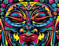 """Check out new work on my @Behance portfolio: """"Buddha"""" http://on.be.net/1PafZW5"""