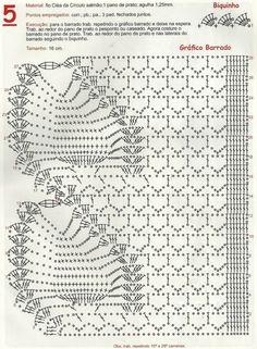Artes com Capricho: Graficos de Crochet...                                                                                                                                                                                 Mais