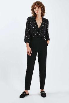 Topshop.com | Keep new season tailoring on-point with these cigarette trousers- click to shop!