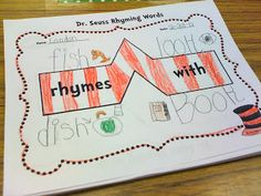 Once Upon a First Grade Adventure: Dr. Seuss Thinking maps-for rhyming words