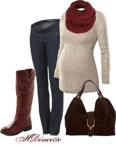 Pregnancy can be stylish: Autumn Maternity Looks: Get this awesome fall maternity look for $32 at MotherhoodCloset.com