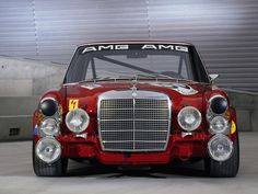 Mercedes 'Die Rote Sau' 300 SEL 6.8 AMG, 1969 (The daddy of all AMG cars)