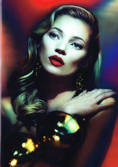 Kate Moss for British Vogue (June 2012)