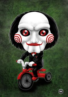 Jigsaw doll by Lauramei.deviantart.com on @DeviantArt