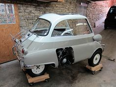I said I've been slacking on my Isetta restoration, but I have been working on various things. One of the things I was wo. Bmw Isetta, Teardrop Trailer, Bmw Cars, Land Cruiser, Subaru, Mini, Classic Cars, Automobile, Bubble