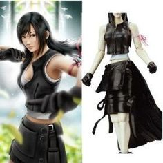 Anime Final Fantasy Cosplay Final Fantasy VII Tifa Lockhart ...