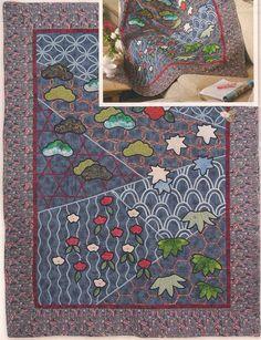 Ponto do Bordado: Colcha de patchwork