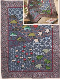 Ponto do Bordado: Colcha de patchwork