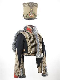 French 19th C army officer uniform (1813-1815) - 7e régiment de Hussards / Paris, musée de l'Armée