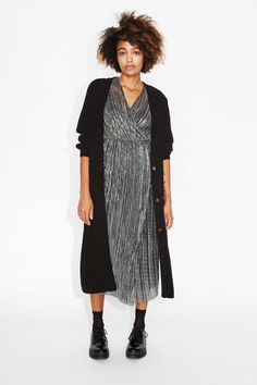 (Y)our new favourite long-line cardi in  knitted chenille that we will be bragging about until forever.