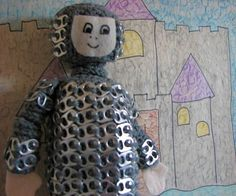 Crochet Pattern Tin Can Knight Doll Toy a Pop Tab Creation in PDF $3.99