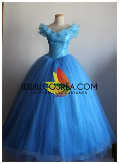 Cinderella 2015 Soft Organza Custom Sizing Cosplay Costume