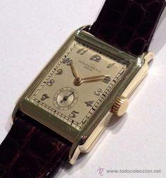 RELOJ DE MUSEO PATEK PHILIPPE DEL AÑO 30 EN ORO DE 18K / patek philippe watch museum